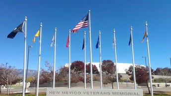 New Mexico Veterans Memorial.