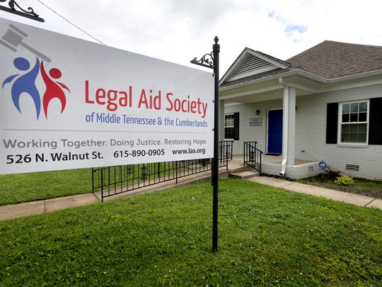 The Legal Aid Society of Middle Tennessee & the Cumberlands office on 526 North Walnut Street, on Friday June 30, 2017, in Murfreesboro, Tenn.