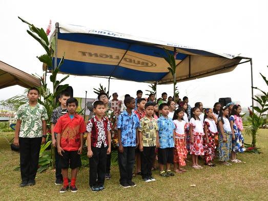 Daniel L. Perez Elementary School students held cultural