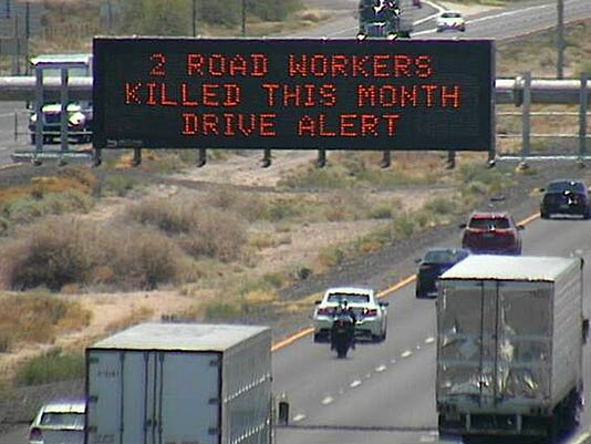 ADOT Urges Caution After 2 Workers Killed On Arizona Freeways