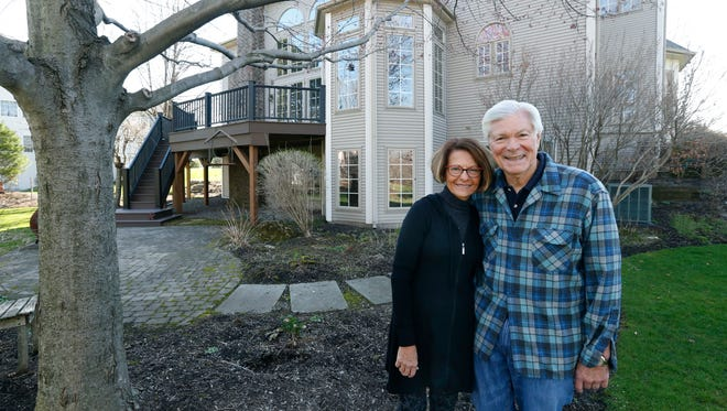 2017: Don and Mary Alhart are downsizing and moving out of their home of 24 years.