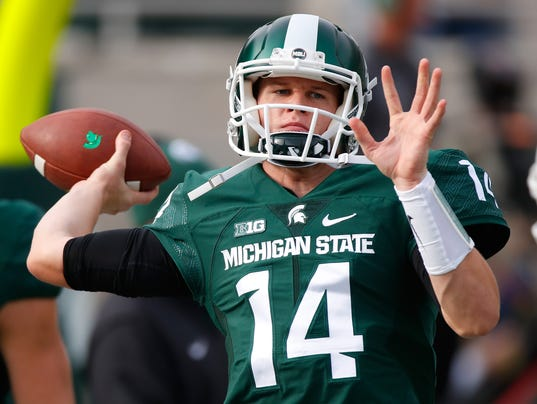 who is michigan state playing today in football