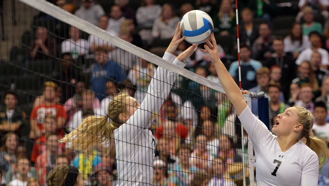 Prep volleyball: Spartans fall flat at state