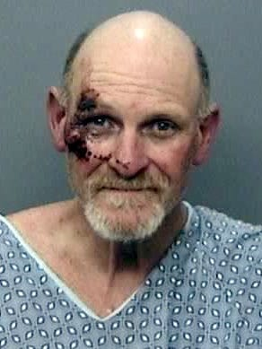 Deputies arrested Gary Bennett on Saturday after an elderly man was beaten and robbed of his pickup in Lakehead. Bennett and another man led officers on a chase in the stolen pickup from Shasta Lake to Lake California before they were apprehended following a struggle, the sheriff's office said.