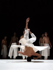 Compagnie Herve Koubi performs Oct. 8 at the Flynn