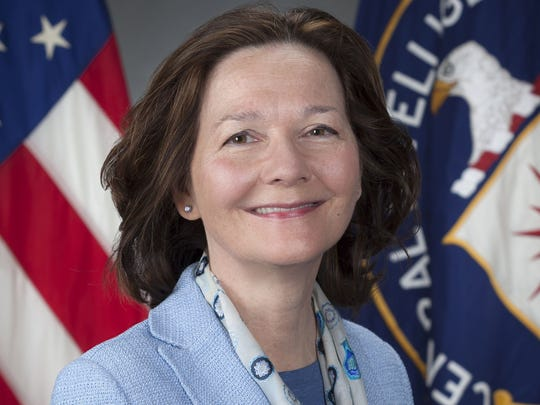 CIA Deputy Director Gina Haspel.