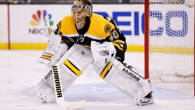 Goalie Tuukka Rask and the Boston Bruins gave up six goals in a five-game series victory against the Detroit Red Wings.