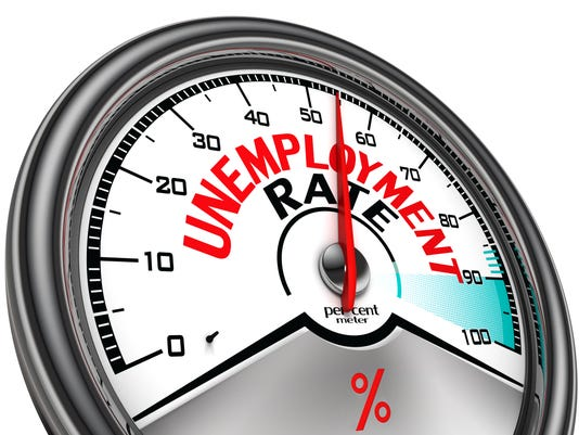 unemployment rate conceptual meter