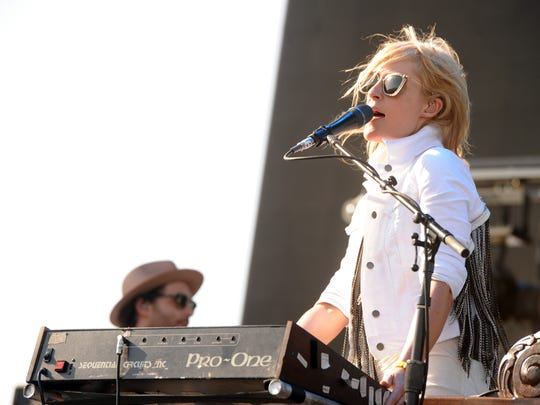 Emily Haines will perform with Metric on March 5 at Old National Centre.