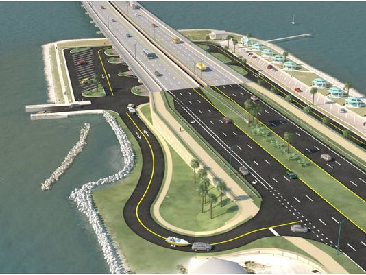 web - pensacola bay bridge landing rendering