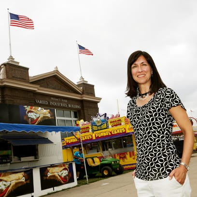 Lori Chappell left her job as the Iowa State Fair's
