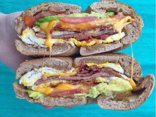 Skyler Bouchard praises this breakfast sandwich from Chelsea Bagel & Cafe.