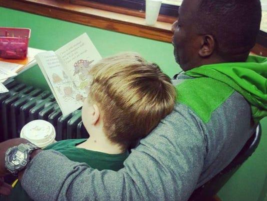 reading with Eddie