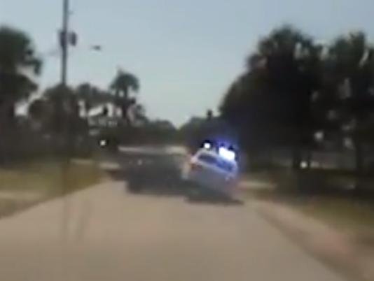 Dashcam from Brevard deputies chasing stolen car