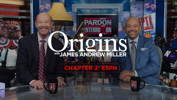 On chapter 2 of James Andrew Miller's 'Origins' podcast,