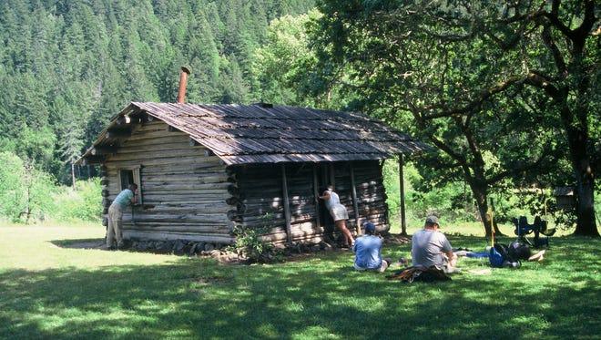 Zane Grey Cabin at Winkle Bar