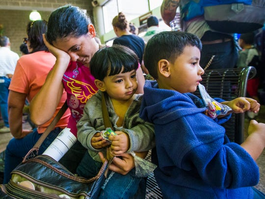 No. 2: Scores of undocumented migrants dropped off