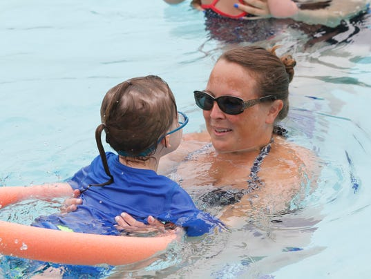 On The Water Teaching Children To Swim At Rockland Jcc