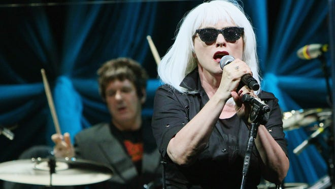 Deborah Harry of Blondie performs in Austin, Texas, in 2011. The iconic '80s band is set to perform in Times Square on New Year's Eve.