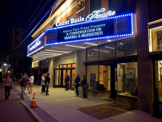 The Count Basie Theatre in Red Bank