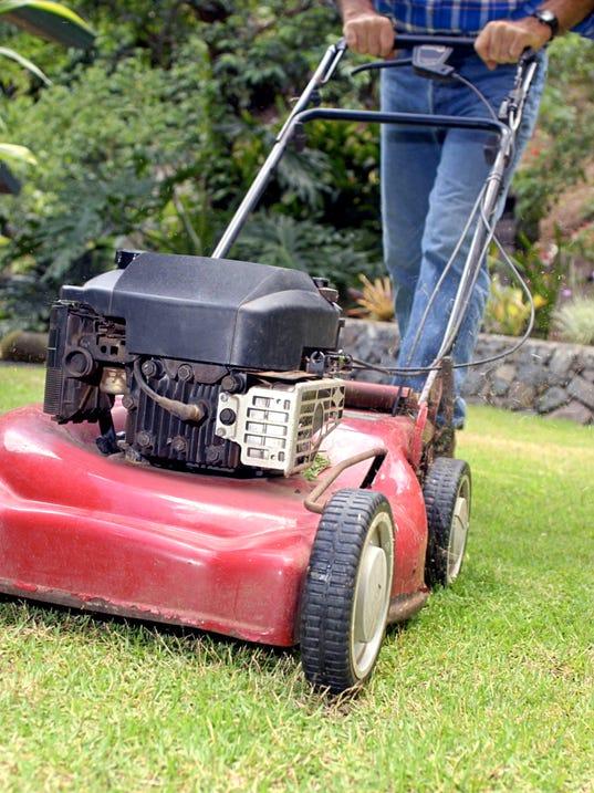 Help Mobile Service Man Still Repairs Mowers