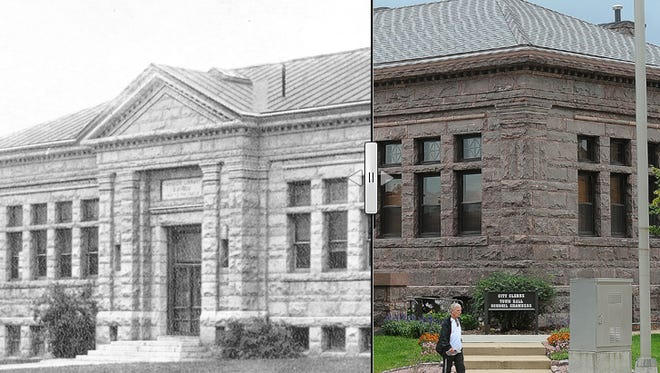 Carnegie Town Hall before and after