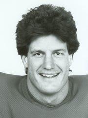 Mark Mullaney, a star football player for Colorado
