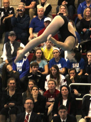Scott's Lindsey Fox won an individual diving title at the Scott Eagle Classic over the weekend.