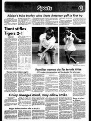 Battle Creek Sports History: Week of June 23, 1976