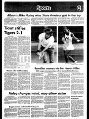 Battle Creek Sports History: Week of June 23, 1976