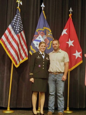 Aaron Kubat (above) is the first male member of the Wabasso American Legion Auxiliary. In 2019 the by-laws were changed to extend membership to male spouses of U.S. service members. Aaron and his wife, Major Noel Kubat, and their family currently reside in Elizabethtown, Ky.
