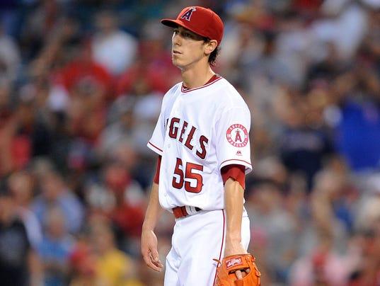MLB: Boston Red Sox at Los Angeles Angels