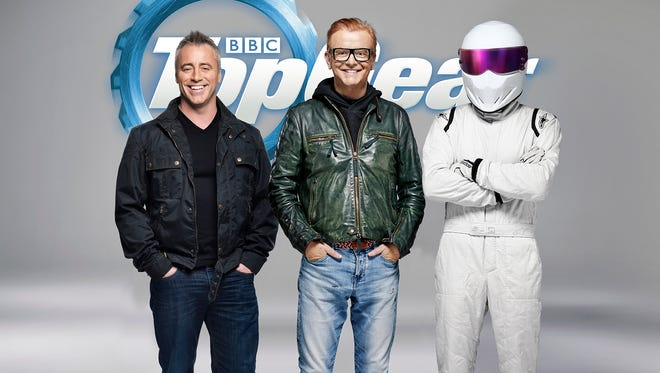Barf bags may be required for the new season of 'Top Gear.'