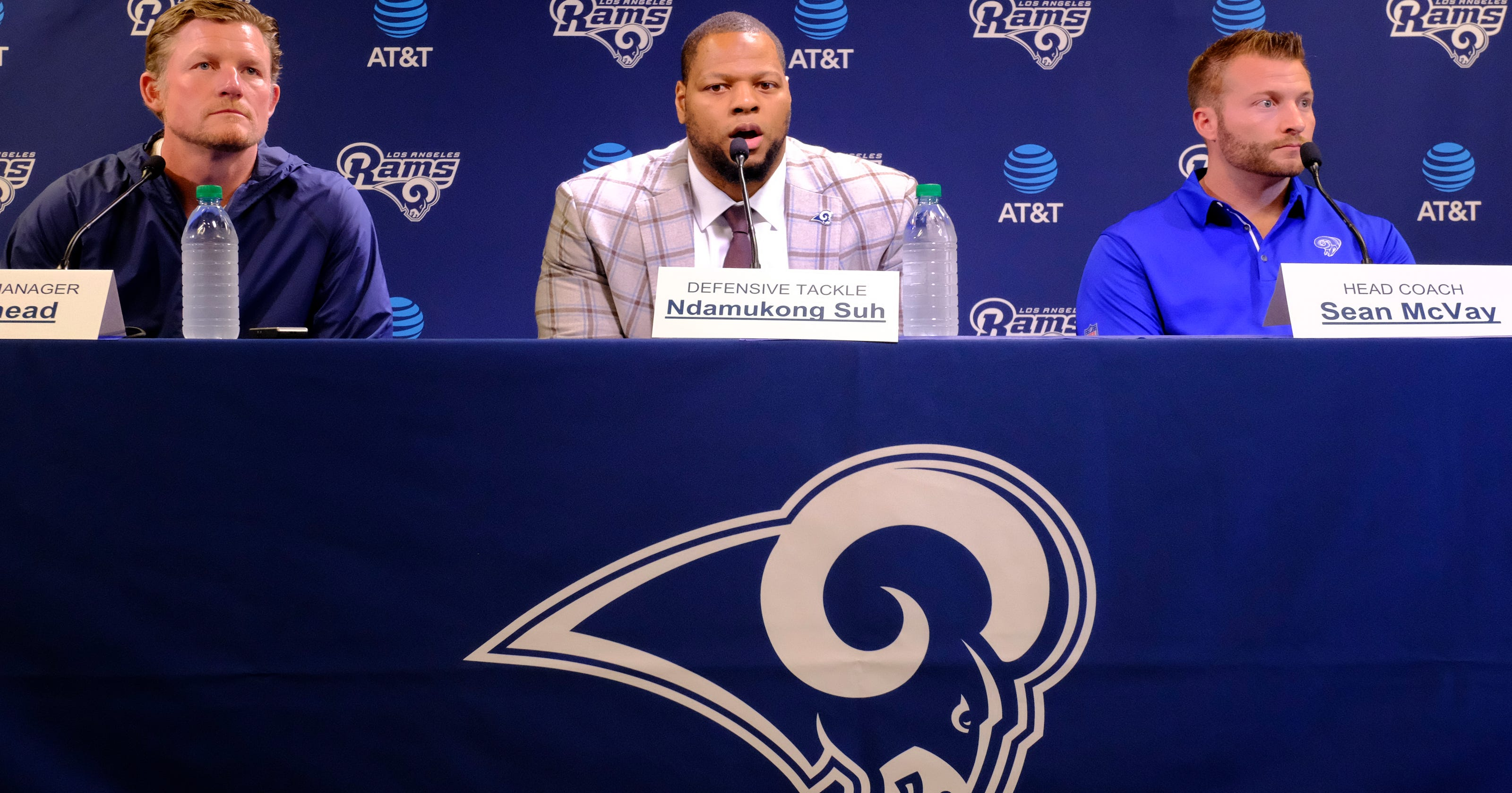 3c1952063 Ndamukong Suh sees potential dominance in Los Angeles Rams