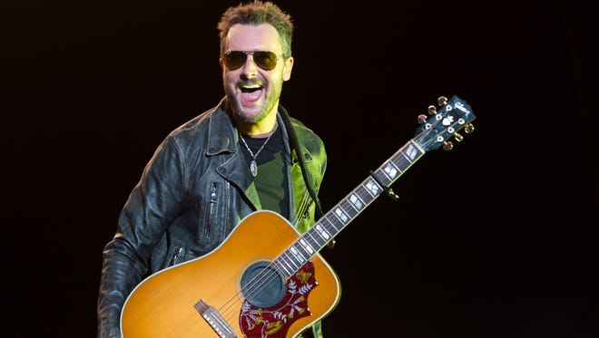 Country singer Eric Church will return to the Resch Center in January for his new Holdin' My Own Tour.