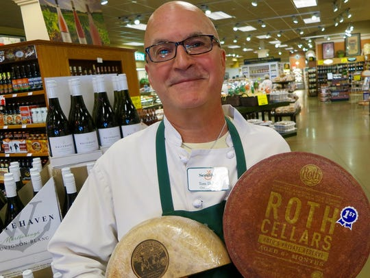 Tom DeZell, cheese manager at Sendik's Fine Foods in