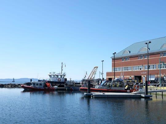 Coast Guard Station Burlington.