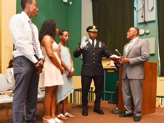 MPD chief, deputy chiefs sworn into office in packed ceremony