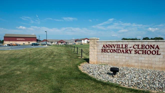 Annville-Cleona Secondary School pictured on Aug. 18 2015.