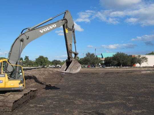 Volvo of Bonita Springs and Bonita Springs Infiniti plan new, larger car dealerships on more than 11 acres cleared just west of Hollywood 20 cinema, background, on Naples Boulevard in North Naples.