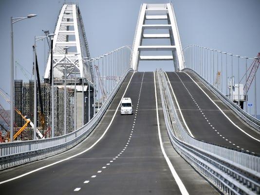 EPA CRIMEA BRIDGE UNVEILING EBF CONSTRUCTION & PROPERTY UKR
