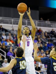 Ryan Taylor has a chance to become Evansville's fifth straight leading scorer in the Missouri Valley Conference.