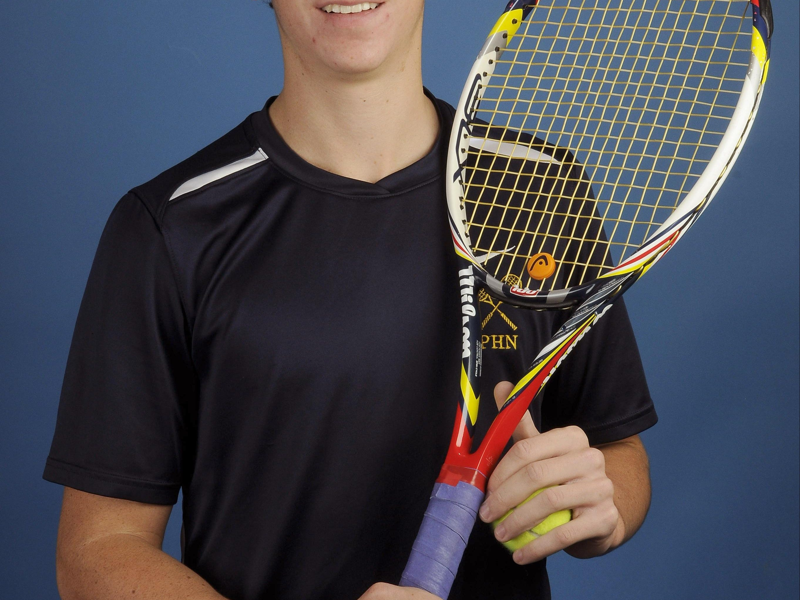 Port Huron Norhthern's Franklin Brozovich is the Times Herald Boys Tennis Player of the Year for the second straight year.