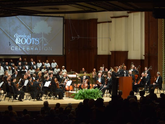 Last year's Classical Roots featured the world premiere