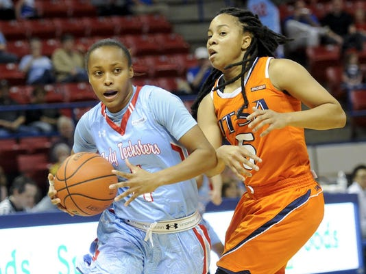 Lady Techster Basketball vs UTSA