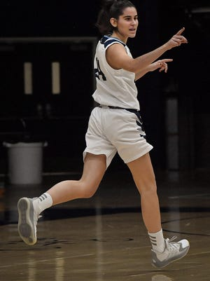 A transfer from Idaho State and native of Barcelona, Spain, Nuria Barrientos has made an immediate impact for the Washburn women this season. Barrientos ranks second on the team in scoring and rebounding and is among the leaders in blocks, steals and assists.