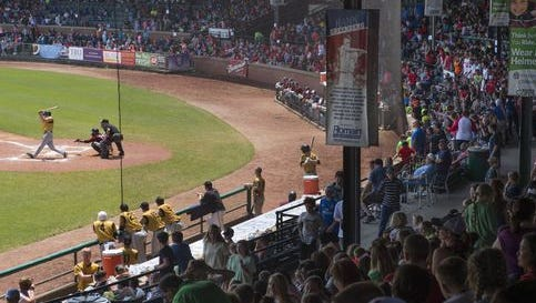 Bosse Field was packed on this year's education day.