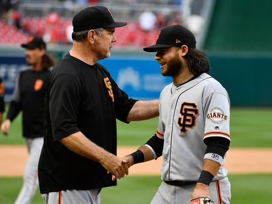 MLB: San Francisco Giants at Washington Nationals