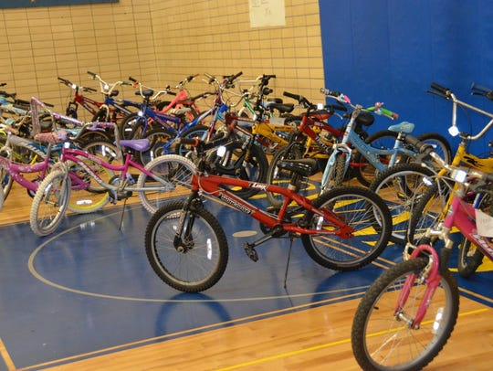 Recycle-a-Bicycle event in Ridgewood