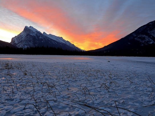 Try Banff National Park For Beautiful Scenery